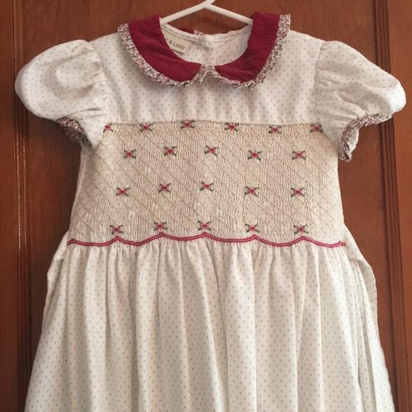 3ffe8eb5a8 Marco & Lizzy Dresses | Marco Litzy Smocked Floral Dress 4t | Poshmark